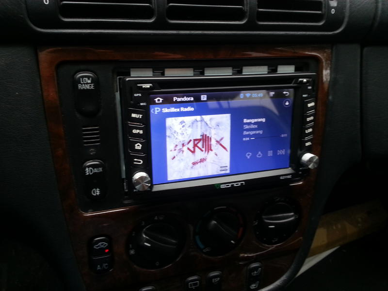 double din chinese android radio install mercedes benz forum. Black Bedroom Furniture Sets. Home Design Ideas