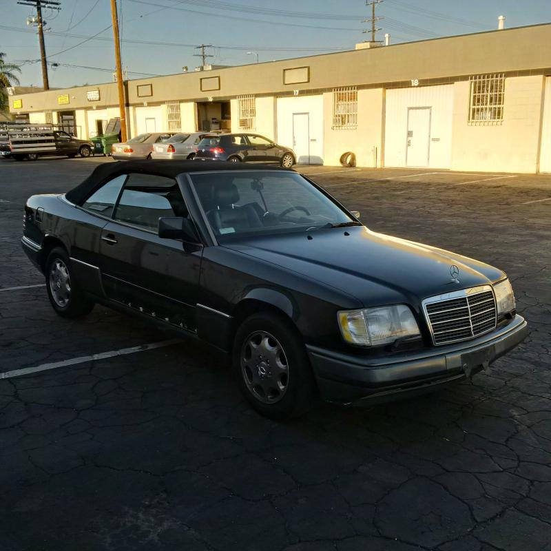 FS: 1994 Mercedes Benz E320 Convertible (w124)