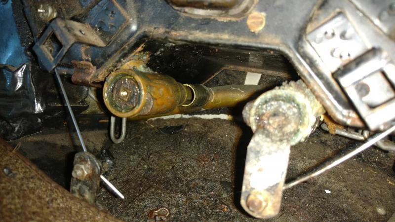 w111 1965 220Sb heat exchanger hose heater valves N900271015009