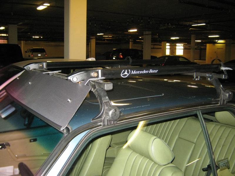 W123 Roof Rack Mercedes Benz Forum