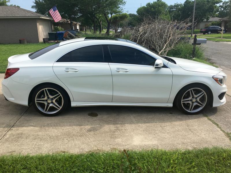 2015 cla250 lease transfer tx sport pano h k for Mercedes benz prepaid maintenance