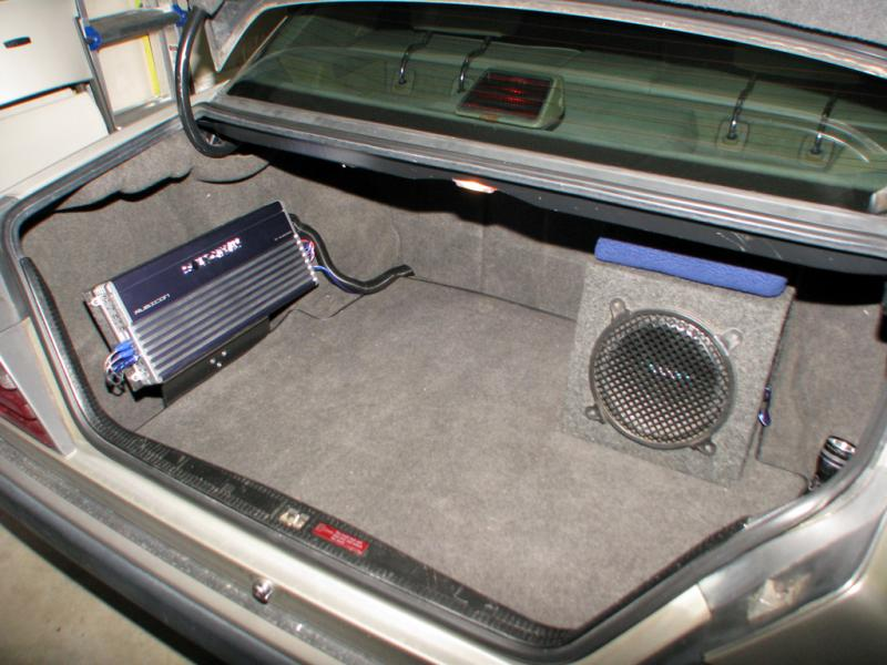 Sub AMP Install Advice - Mercedes-Benz Forum