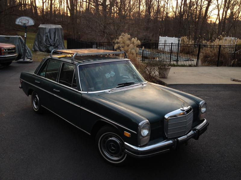 1972 250 w114 sedan price reduced mercedes benz forum for Mercedes benz giveaway