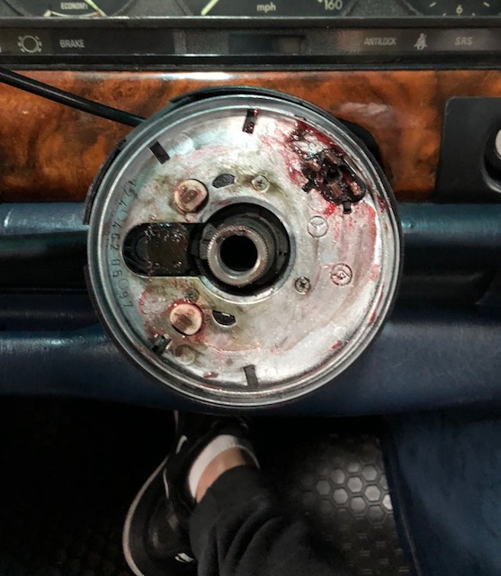 Safe Nardi Wood Steering Wheel To Replace The Airbag Wheel