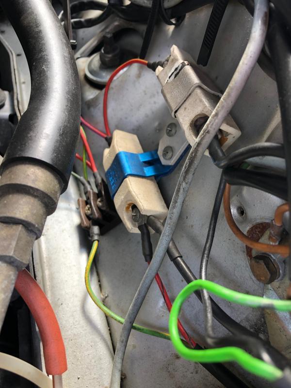 1979 Mercedes 450sl Ballast Resistors