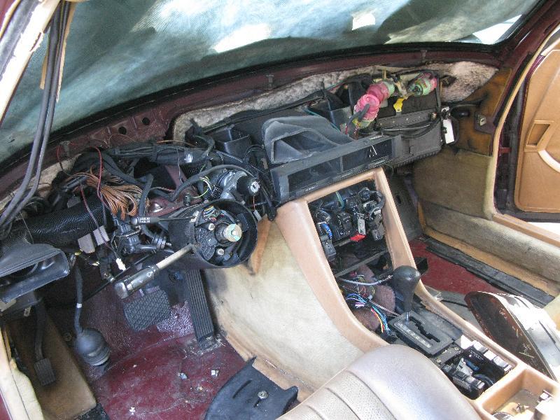 service manual  mercedes vito dash removal