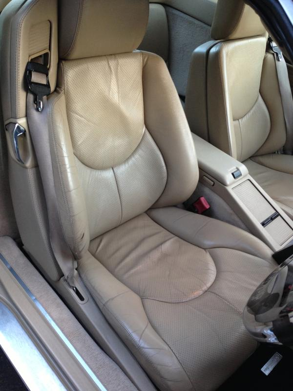 city replacement seat youtube benz bl repair seats e redwood by upholstery mercedes slk cooks info