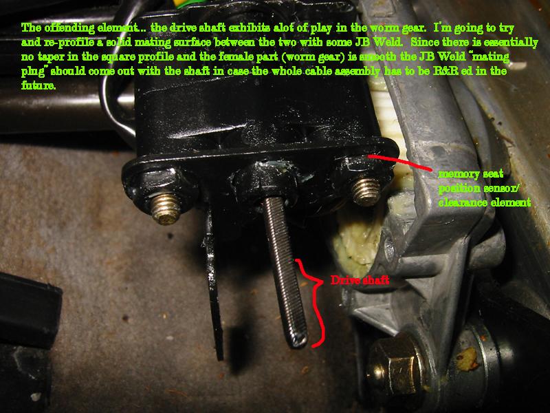 cushion seat binding adjustment benz driver