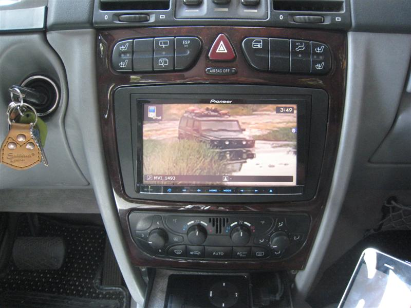 05 G500 Aftermarket Stereo Question Mercedes Benz Forum