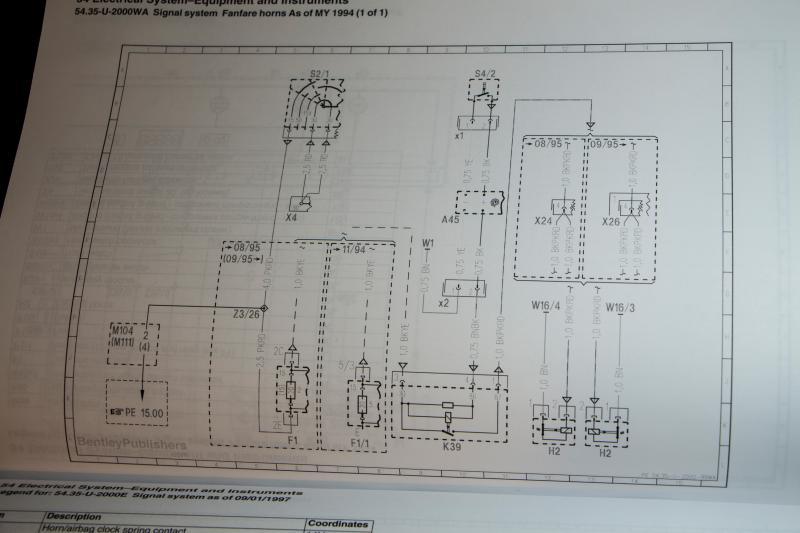 1995 Horn Wiring