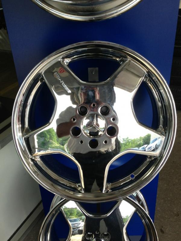 """New 18"""" AMG 5 Spoke Wheels Chromed 1999-2006-img_4791.jpg"""