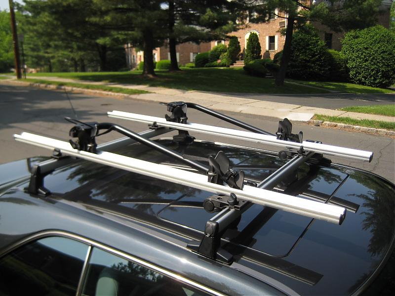 W124 Oem Coupe Roof Rack Installed Mercedes Benz Forum