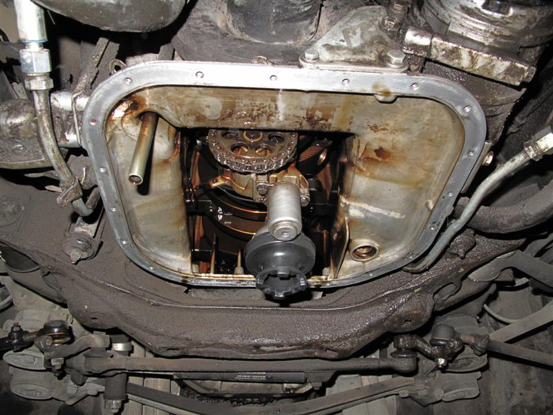 D Lower Oil Pan Replacement Some Maintenance Img Medium