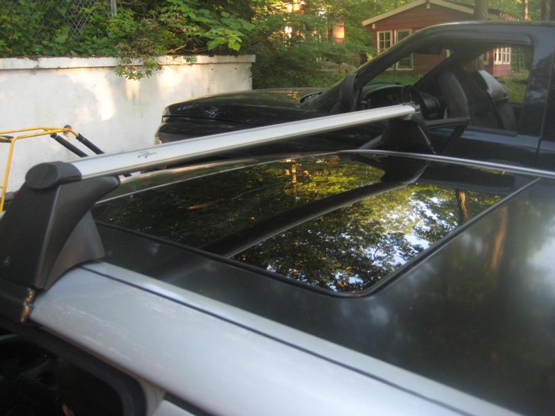 D W Mercedes Roof Rack Img