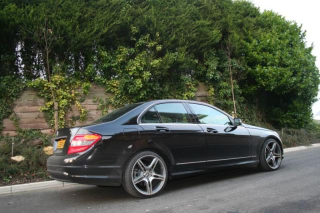 mynew mercedes c220 cdi sport 2009 black uk mercedes. Black Bedroom Furniture Sets. Home Design Ideas