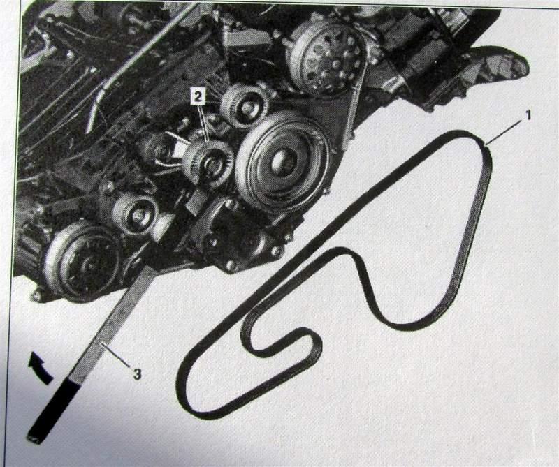 Poly v belt tensioner pulley tool mercedes benz forum for Poly v belt for mercedes benz