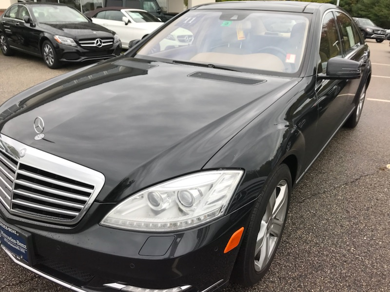 just purchased a cpo 2011 s550 looking for tint shop in