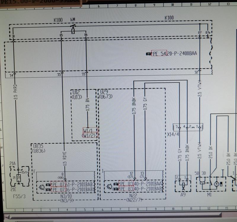 starter motor wiring diagram | Mercedes-Benz ForumBenzWorld