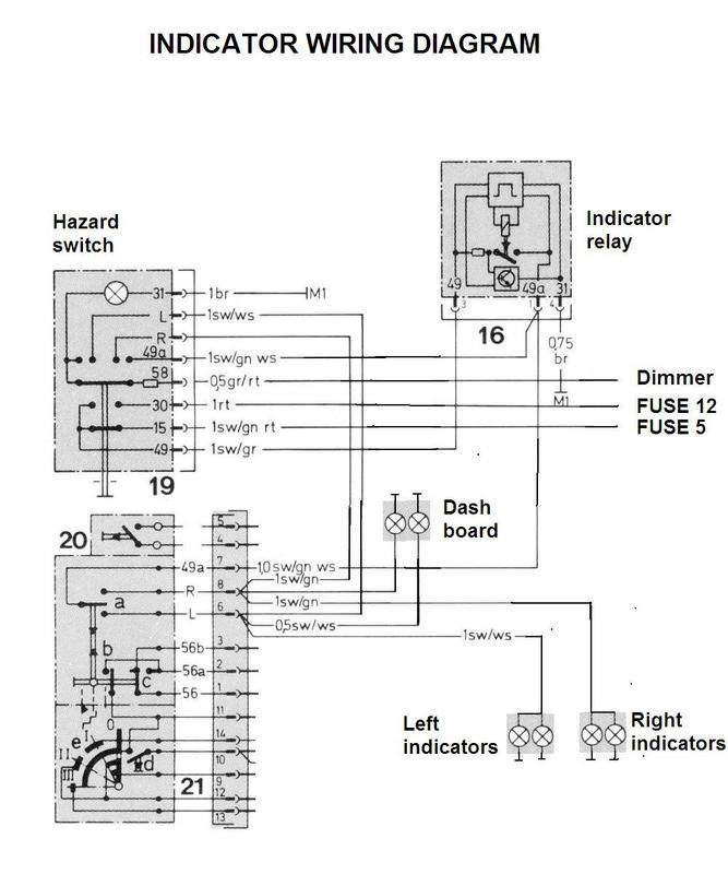 Wiring Diagram For Indicators On Cars : Indicator not working new way to fix it mercedes benz