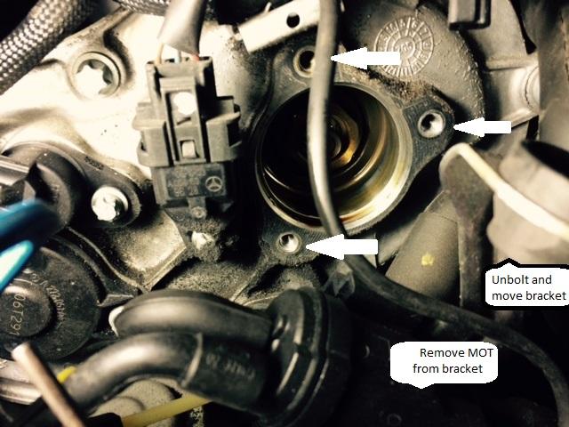 D Camshaft Position Sensor Solenoid Magnet Diy Intake Sensor Removed