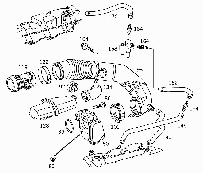 Help On Removing Air Intake Hoses For EGR Cleaning