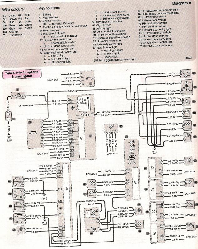 Wiring Diagram - Interior Lighting  Cigar Lighter