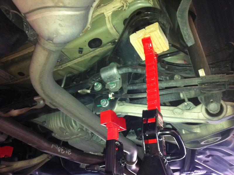 Tips Replacing Rear Air Suspension Of GL450 Mercedes
