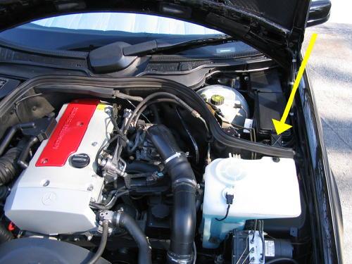 Dead Battery Open Boot Mercedes Benz Forum