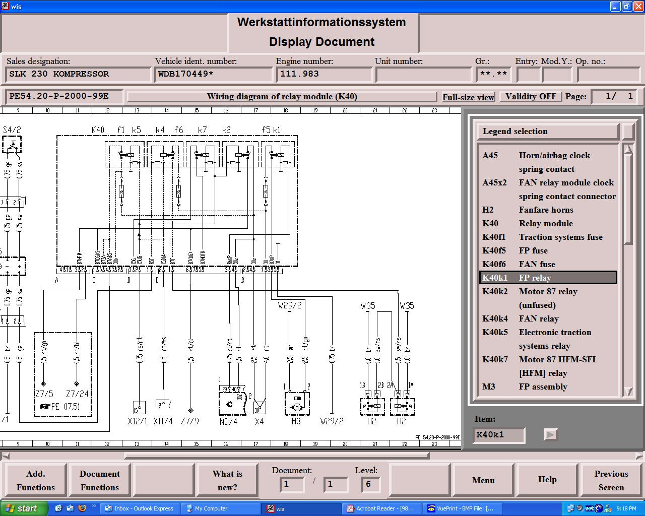 Slk Fuse Diagram Data Wiring On A 1999 Ford Focus Box 230 Diagrams Schematic 2001 F250