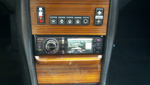 1982 300d custom stereo installation mercedes benz forum for Mercedes benz stereo installation