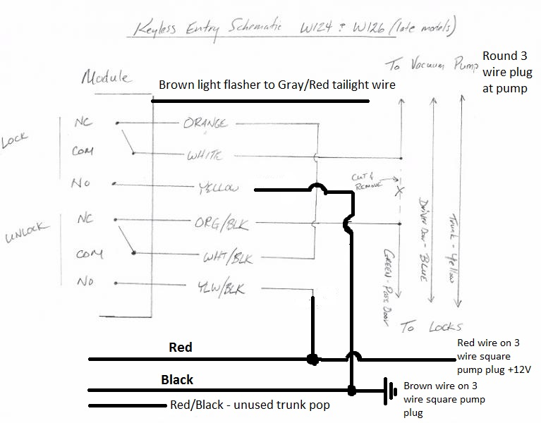 Mercedes W124 E320 Wiring Diagram - General Wiring Diagrams on