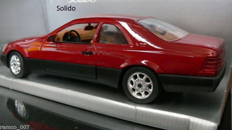 S Class Coupe >> W140 1:18 scale model - Page 2 - Mercedes-Benz Forum