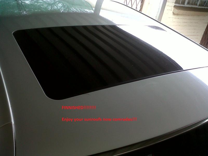 DIY - W140 Sun Roof Resotoration / Repair / Service / Dismantle (ALL PICS)-last.jpg