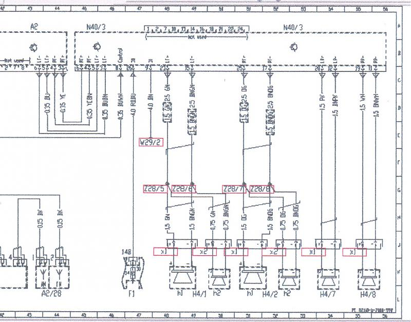 167290d1205372882 help installing new head unit 01 lastscan help with installing a new head unit in 01 slk230? mercedes benz mercedes 1999 230 slk fuse box diagram at panicattacktreatment.co