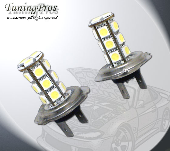 LED H7 High Beam Light Bulbs Mercedes R-Class 06-08-led-