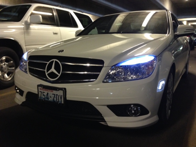 Led Vs Clear Side Marker Lights Mercedes Benz Forum