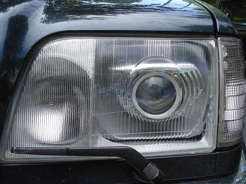 W124 - HID projector conversion - Page 2 - Mercedes-Benz Forum