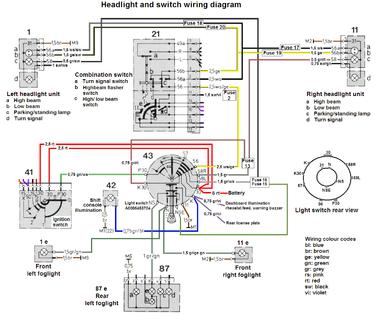 euro head lights cleaning question page 2 mercedes benz forum rh benzworld org Switch Wiring Diagram Symbol 4-Way Switch Wiring Diagram