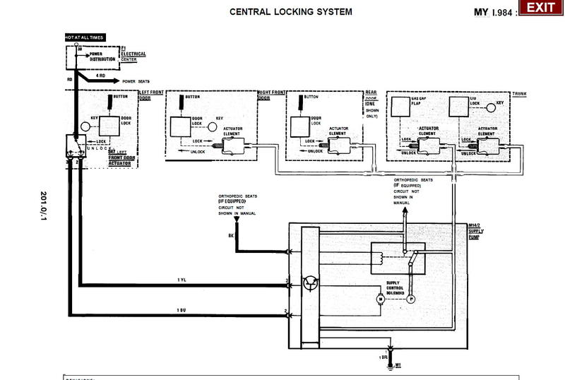 central locking system wiring for 84 190d? - mercedes-benz ... central locking system wiring