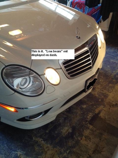 Low Beam Headlamp Replacement Mercedes Benz Forum