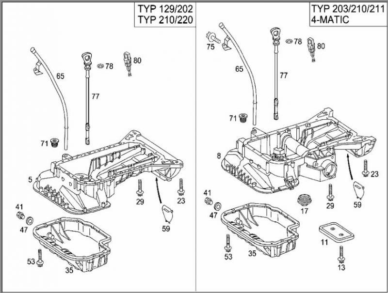 mercedes benz c280 parts