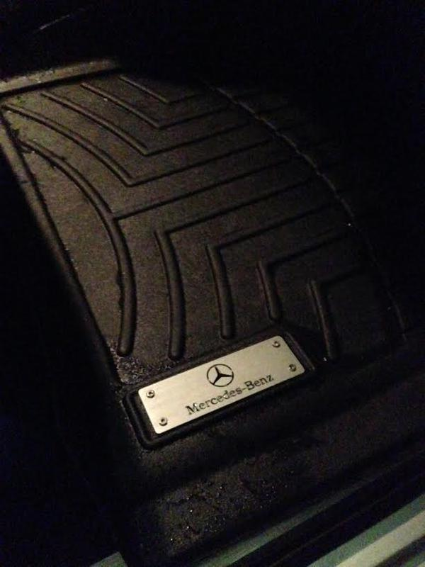 weathertech floor mats with mb logo