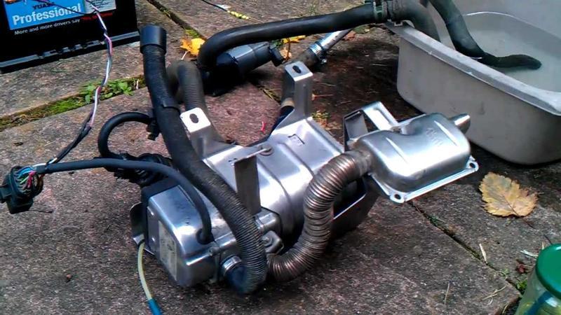 Vito 108cdi Auxiliary Diesel Heater Economizer Repair