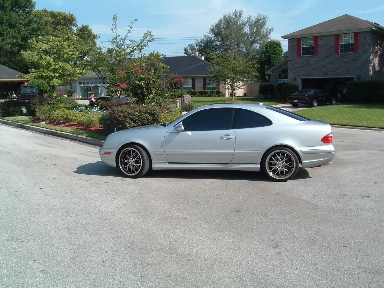 Widest tires that fit on 2001 clk 430? - Mercedes-Benz Forum