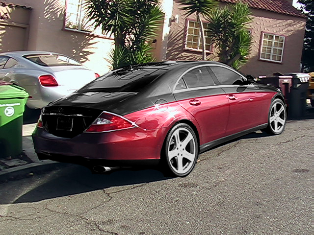 Ps Of Cls With Maybach Two Tone Paint Mercedes Benz Forum