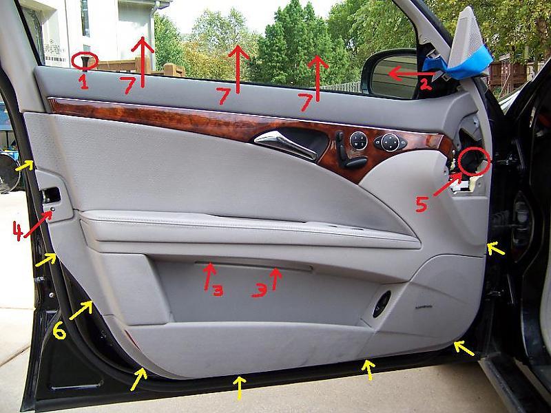 DIY: 2003 E320 Door Lock Actuator - Mercedes-Benz Forum