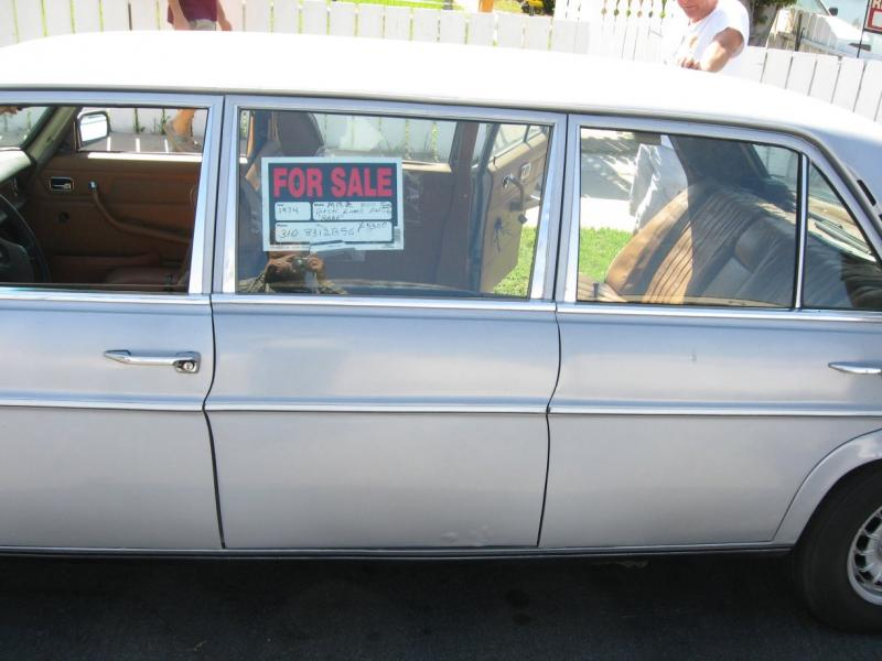 W115 Limo In La Craigslist Page 2 Mercedes Benz Forum