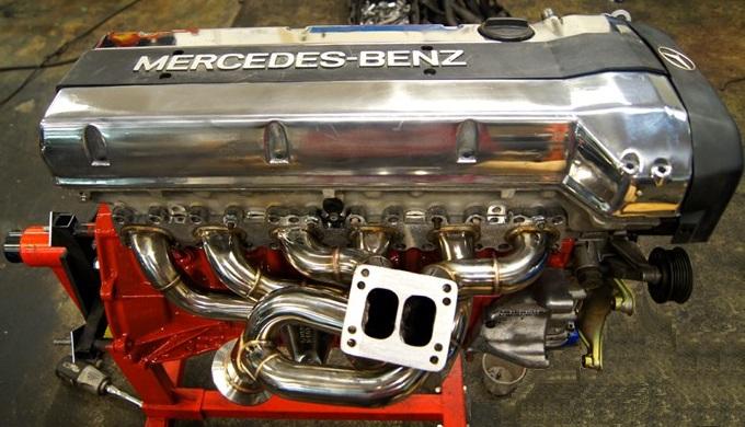 OM606 Diesel vs M104 Petrol: similarities? turbo/intercooler
