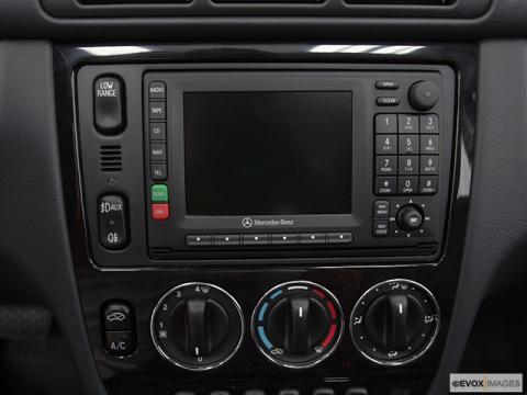 Galerry ml350 w163 stereo