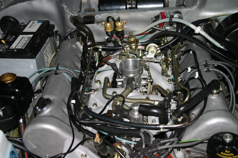 1972 350sl Vacuum Diagram  Plus  Whats This